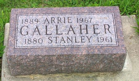 GALLAHER, STANLEY - Hamilton County, Iowa | STANLEY GALLAHER