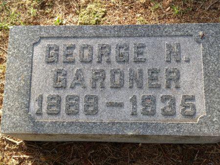 GARDNER, GEORGE N. - Hamilton County, Iowa | GEORGE N. GARDNER