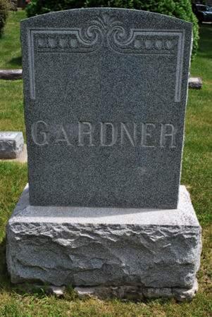 GARDNER, FAMILY STONE - Hamilton County, Iowa   FAMILY STONE GARDNER