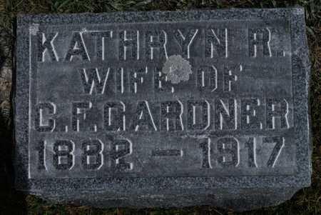 GARDNER, KATHRYN R. - Hamilton County, Iowa | KATHRYN R. GARDNER