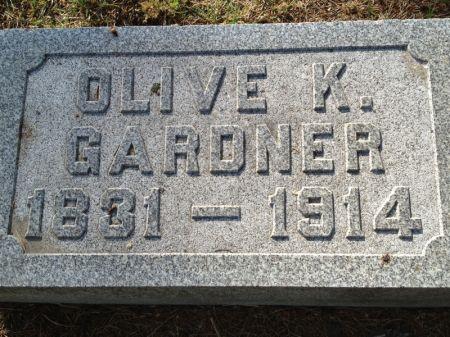 GARDNER, OLIVE K. - Hamilton County, Iowa | OLIVE K. GARDNER