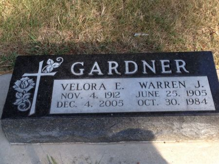 GARDNER, VELORA E. - Hamilton County, Iowa | VELORA E. GARDNER