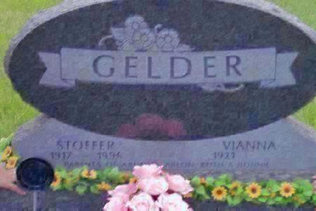 GELDER, VIANNA - Hamilton County, Iowa | VIANNA GELDER