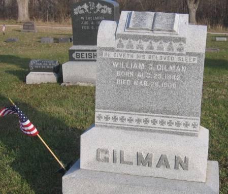 GILMAN, WILLIAM G. - Hamilton County, Iowa   WILLIAM G. GILMAN