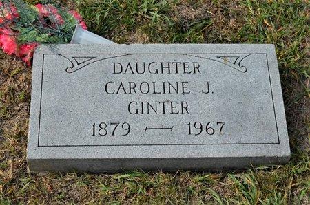 GINTER, CAROLINE J. - Hamilton County, Iowa   CAROLINE J. GINTER