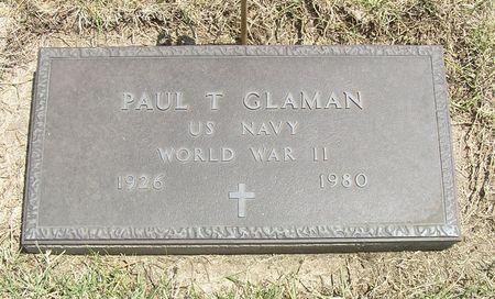 GLAMAN, PAUL T. - Hamilton County, Iowa | PAUL T. GLAMAN