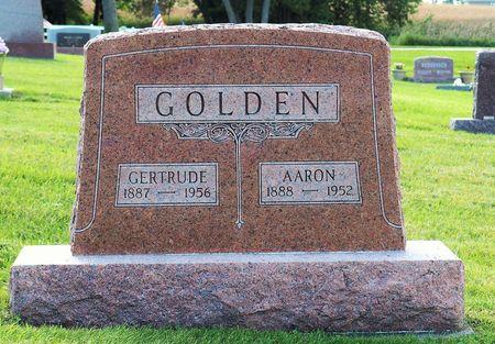 GOLDEN, AARON - Hamilton County, Iowa   AARON GOLDEN