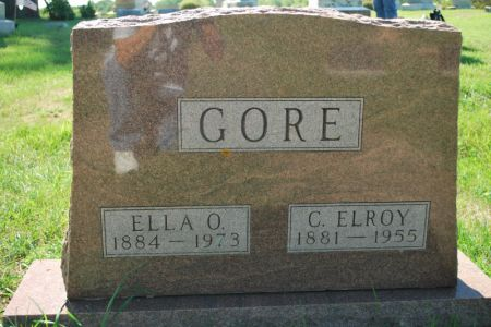 GORE, C. ELROY - Hamilton County, Iowa | C. ELROY GORE