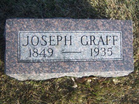 GRAFF, JOSEPH - Hamilton County, Iowa   JOSEPH GRAFF