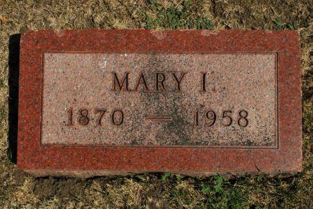 GRAFFUNDER, MARY I. - Hamilton County, Iowa | MARY I. GRAFFUNDER