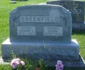 GREENFIELD, AREND T. - Hamilton County, Iowa | AREND T. GREENFIELD