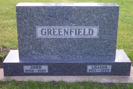 VANDEVENTER GREENFIELD, LILLIAN - Hamilton County, Iowa | LILLIAN VANDEVENTER GREENFIELD