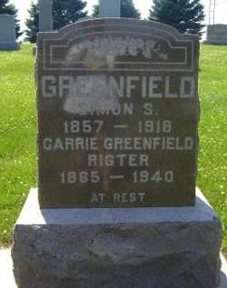 GREENFIELD, SIMON S. - Hamilton County, Iowa | SIMON S. GREENFIELD