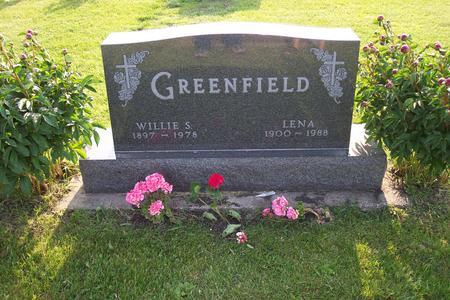 GREENFIELD, LENA - Hamilton County, Iowa | LENA GREENFIELD