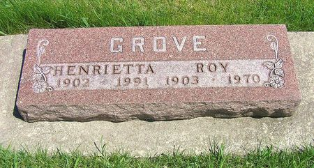 GROVE, ROY - Hamilton County, Iowa   ROY GROVE