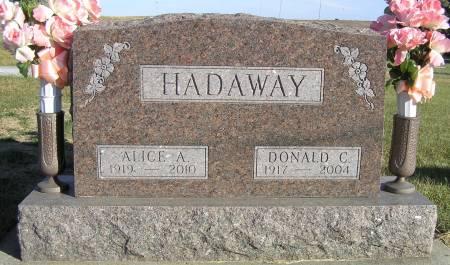 HADAWAY, ALICE A. - Hamilton County, Iowa | ALICE A. HADAWAY