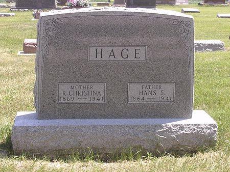 HAGE, HANS S. - Hamilton County, Iowa | HANS S. HAGE