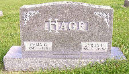 HAGE, EMMA C. - Hamilton County, Iowa | EMMA C. HAGE