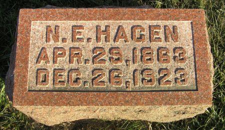 HAGEN, NICK E. - Hamilton County, Iowa   NICK E. HAGEN