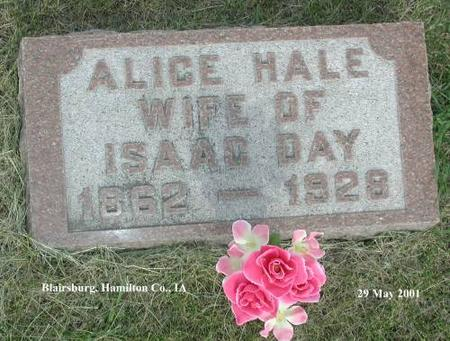 HALE, ALICE - Hamilton County, Iowa | ALICE HALE