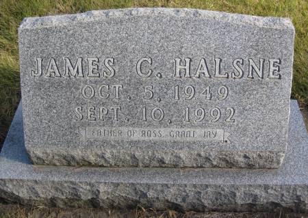 HALSNE, JAMES C. - Hamilton County, Iowa | JAMES C. HALSNE