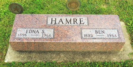 HAMRE, EDNA S. - Hamilton County, Iowa | EDNA S. HAMRE
