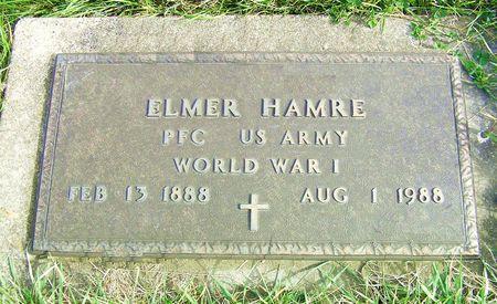 HAMRE, ELMER - Hamilton County, Iowa   ELMER HAMRE