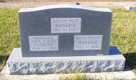 REESE HANLINE, LAVONNE - Hamilton County, Iowa | LAVONNE REESE HANLINE