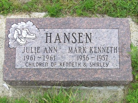 HANSEN, JULIE ANN - Hamilton County, Iowa | JULIE ANN HANSEN