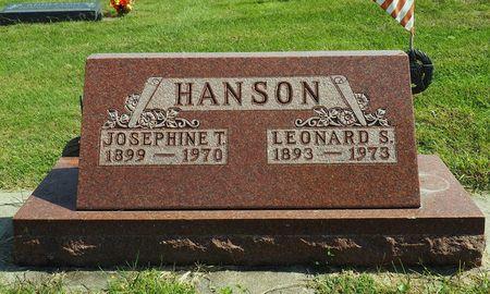 PRISKE HANSON, JOSEPHINE T. - Hamilton County, Iowa | JOSEPHINE T. PRISKE HANSON