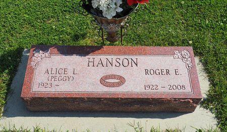 HANSON, ROGER E. - Hamilton County, Iowa   ROGER E. HANSON
