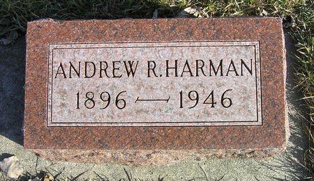 HARMAN, ANDREW R. - Hamilton County, Iowa   ANDREW R. HARMAN