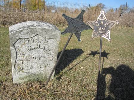 HARRIS, LEVI M. - Hamilton County, Iowa | LEVI M. HARRIS