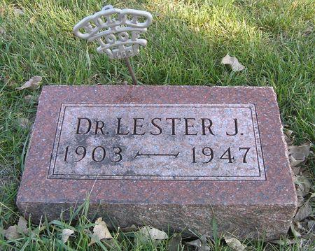 HARWOOD, DR. LESTER J. - Hamilton County, Iowa | DR. LESTER J. HARWOOD
