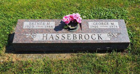 HASSEBROCK, ESTHER M. - Hamilton County, Iowa | ESTHER M. HASSEBROCK