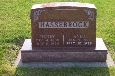 HASSEBROCK, ANNA - Hamilton County, Iowa | ANNA HASSEBROCK