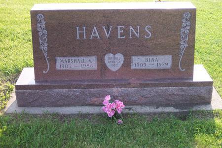 HAVENS, BINA - Hamilton County, Iowa | BINA HAVENS