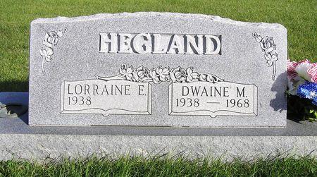HEGLAND, DWAINE M. - Hamilton County, Iowa | DWAINE M. HEGLAND