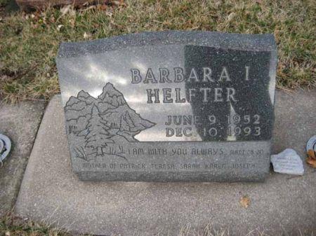 HELFTER, BARBARA I. - Hamilton County, Iowa   BARBARA I. HELFTER