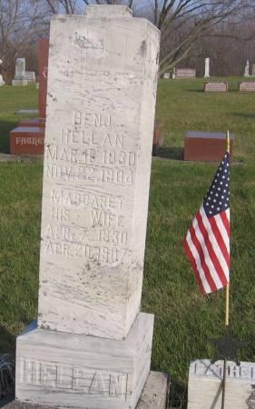HELLAN, BENJAMIN - Hamilton County, Iowa   BENJAMIN HELLAN