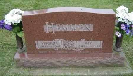 MANION HEMMEN, VIRGINIA - Hamilton County, Iowa | VIRGINIA MANION HEMMEN