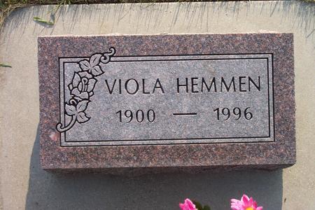 HEMMEN, VIOLA - Hamilton County, Iowa | VIOLA HEMMEN