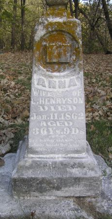 HENRYSON, ANNA - Hamilton County, Iowa | ANNA HENRYSON