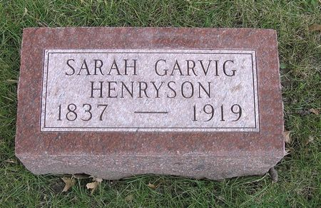 HENRYSON, SARAH - Hamilton County, Iowa | SARAH HENRYSON
