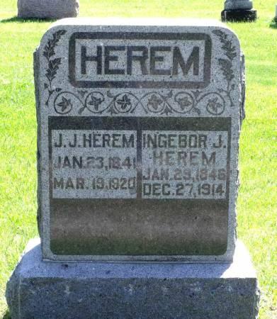 HEREM, INGEBOR J. - Hamilton County, Iowa | INGEBOR J. HEREM
