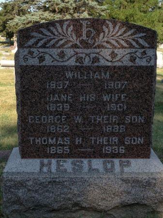 HESLOP, WILLIAM - Hamilton County, Iowa | WILLIAM HESLOP