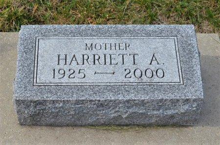 HINDS, HARRIETT A. - Hamilton County, Iowa   HARRIETT A. HINDS