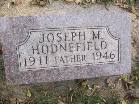 HODNEFIELD, JOSEPH M. - Hamilton County, Iowa | JOSEPH M. HODNEFIELD