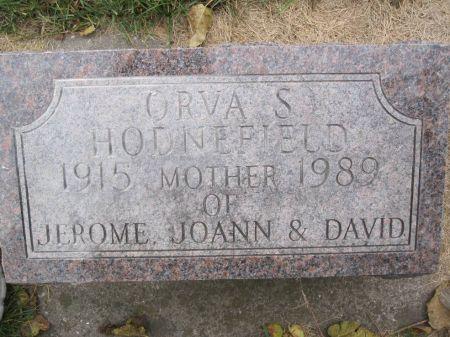 HODNEFIELD, ORVA S. - Hamilton County, Iowa | ORVA S. HODNEFIELD