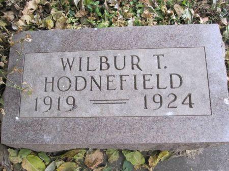 HODNEFIELD, WILBUR T. - Hamilton County, Iowa | WILBUR T. HODNEFIELD
